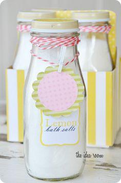 * MOTHERS DAY GIFT IDEA ~                 DIY Bath Salts Recipe