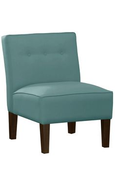 Armless Chair with Buttons - Accent Chairs - Living Room - Furniture   HomeDecorators.com