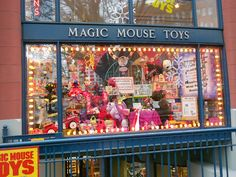 Magic Mouse Toys is a fabulous toy store in Seattle. Very unique and special toys sold here. #Seattle