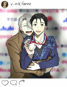 Yuri on Ice!!!  Victor and Yuuri   Victurri