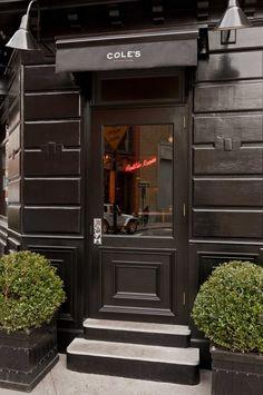 Cole's   Greenwich Village, NYC. ~ Restaurant