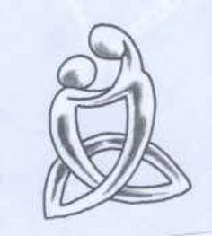 Mother / son tattoo idea