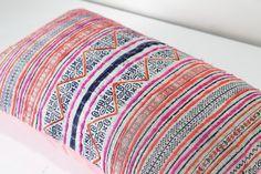 Boho Bohemian VINTAGE HMONG Textile Batik Patch Work by Tshaj