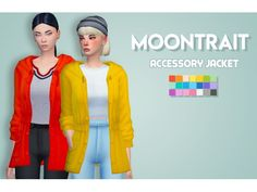 The Sims 4 MOONTRAIT ACC JACKET