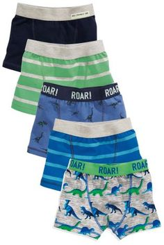35f4fd4bfc Buy Multi Stripe Dino Trunks Five Pack online today at Next  United States  of America