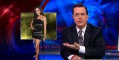 Stephen Colbert Discusses Trans Issues, Janet Mock, Caemen Carrera @NewNowNext