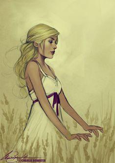 Female Character Illustration #female #character #illustration #woman