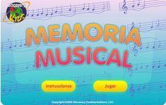 MEMORIA MUSICAL PARA DÍA DE ORDENADORES Y GRUPOS PEQUEÑOS. TRABAJO ATENCIÓN Y NOTAS. LUEGO TOCAR MELODÍAS