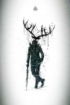 mr. #Deer. #art
