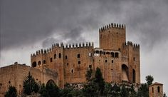 Castle And Clouds by EveLivesey