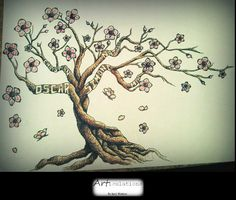 A requested tattoo design with family member names (2011)
