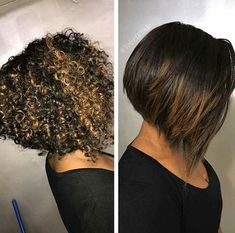 Try easy Bob Hairstyles for Natural Hair 249420 Faux Tapered Bob Curly Hair 2019 using step-by-step hair tutorials. Check out our Bob Hairstyles for Natural Hair 249420 Faux Tapered Bob Curly Hair tips, tricks, and ideas. Curly Hair Cuts, Short Curly Hair, Short Hair Cuts, Curly Hair Styles, Natural Hair Styles, 3c Hair, Natural Hair Bob, Curly Bob, Hair Magazine