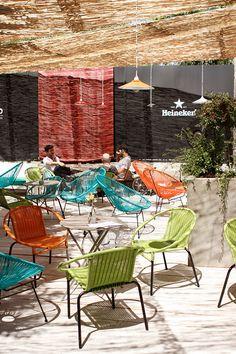 The Patio: copas y compras exquisitas en un céntrico palacete madrileño. | diariodesign.com barefootstyling.com