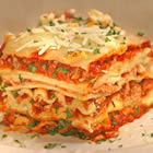 World's Best Lasagna -allrecipes.com  (Making this a day ahead for a friend and ourselves, with a few variations)