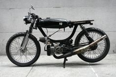 """1981 Puch Magnum / This, I Like. Slapping a """"Magnum"""" moniker on a Puch--ballsy."""