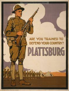 Examples of Propaganda from WW1   American WW1 Propaganda Posters
