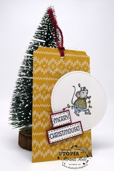 Stampin Utopia Bestel Stampin' Up! Hier;merry mice, christmas tag