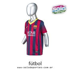 Camiseta FC Barcelona Oficial Stadium Kids Bordeaux Azul Marca  Nike  510020532808413   499 c3cd623dff0e3