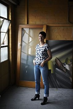 Kirstin Berg in her North Melbourne studio.