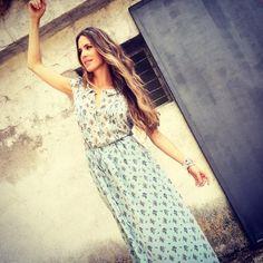 Vanessa Romero, con vestido de Denny Rose