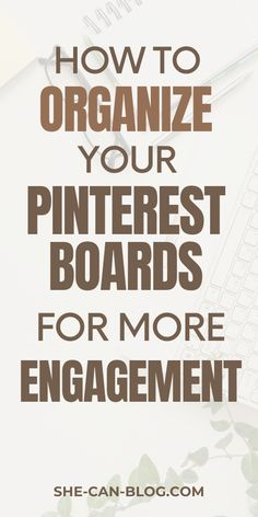 If you want to learn how to increase your blog traffic from Pinterest, you should first learn how to organize your Pinterest boards and work on your Pinterest SEO. In this post you get the best Pinterest SEO tips, and the best Pinterest board ideas to get more impressions on your pins and more traffic to your blog. #pinterestmarketing #pinterestforbusiness