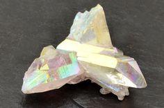 Angel Aura Crystal Cluster Stone 36mm x 35mm x by AguamarinaGems