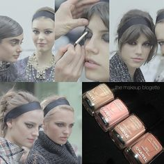 Chanel 2015-16 Fall-Winter RTW Show Backstage Beauty: featuring new creations coming your way mid to end July 2015, including this range of Le Vernis from the new Les Beiges collection available from 2 June 2015.