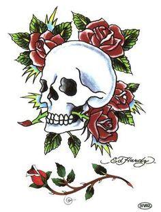 Ed Hardy Skull Roses Ed Hardy Snake Ed Hardy Joker | DAY OF THE ...