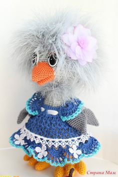 Amigrumi Sweet Bird-Free Pattern