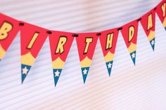Wonder Woman Party Banner, Wonder Woman Birthday Banner  https://www.birthdays.durban