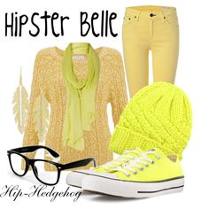 Hipster Belle by hip-hedgehog on Polyvore featuring Monsoon, rag & bone, Converse, Anita Ko and Eugenia Kim