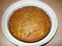 A moist and delicious recipe for Crock-Pot Banana Bread that is the perfect use for over ripe bananas. Whip up a batch today for a yummy sweet treat! Bake in Crockpot - on low for 4 hours. Crock Pot Banana Bread Recipe, Crock Pot Brot, Crock Pot Slow Cooker, Crock Pot Cooking, Banana Bread Recipes, Crock Pots, Slow Cooker Banana Bread, Cake Recipes, Cooking Rice