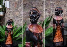 Tribal Maasai lady