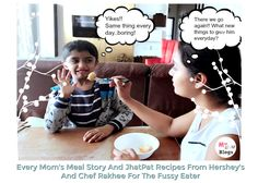 Handling a fussy eater is a pain and that's where Chef Rakhee and Hershey's come to the rescue. Healthy recipes from Hershey's are irresistible even to kids Fussy Eaters, Kid Friendly Meals, Healthy Recipes, Adventure, Mom, Kids, Young Children, Children, Healthy Eating Recipes
