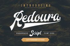 Redoura Font Duo  by letterhend on @creativemarket