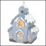 Snowbuddies Light-Up Church - FREE SHIP CONTINENTAL 48 USA