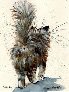 """Fluffy Bum"" par Kim Haskins"