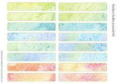 La de dah scrapbook creative alphabet couleurs assort autocollant flip book