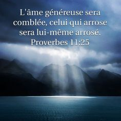 Proverbes 11: 25