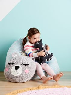 More than just a pillow on the bed, these cushions have personality. Every time your child walks into their room a smile and a hug await them. These Snuggle ...