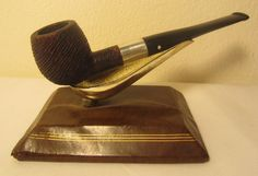 Vintage Dr. Grabow Starfire Straight Apple Rusticated Briar Estate Tobacco Pipe