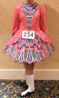 Fantastic Traditional Panel Dress – Bubblegum Pink!
