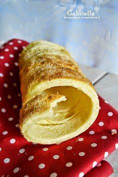MaiKupon közösségi oldala, ahol receptek is találhatók!: Kürtős kalács (vaníliás-citromos) - sütőben sütve