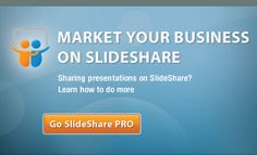 Slideshare is both a place to upload your own content to promote your business & expertise but also a great place to learn from others' presentations.