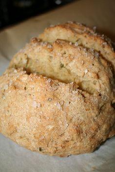 Gluten-Free Crusty Rosemary Boule Bread