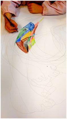 """""""Mandala"""", fuoco, pittura in movimento, Lab. Pinocchio 2016"""