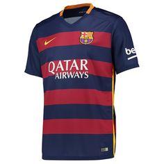 95391f8a5 Barcelona Home Shirt 2015 16 - Kids Blue  Barcelona Home Shirt 2015 16