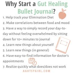Gut Healing Bullet Journal - A Gutsy Girl - Pins Daily Exercise Routines, Diet Exercise, Keeping A Journal, Stress Less, Loving Your Body, New Things To Learn, Feeling Overwhelmed, Gut Health, Natural Healing