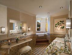 Bathroom - Tower Suite Palace Gstaad, Switzerland