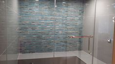 Look at the tile design in this steam room! Contemporary, Urban luxury home design inspiration! Hoxton Homes - Butterfly Showhome now building in WestPointe of Windermere Beautiful Home Designs, Beautiful Homes, Steam Room, Windermere, Tile Design, Luxury Homes, Bathtub